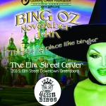 GGF Green Queen Bingo theme