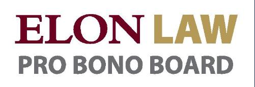 Elon Law Pro Bono Board